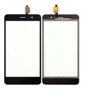 Assembly Digitizer Touch Screen Glass Part for Wiko Tommy 2 - Black