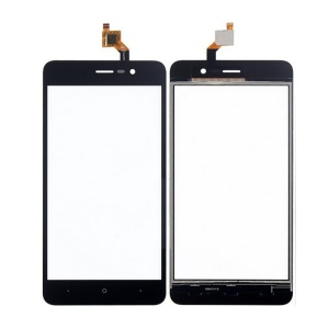 Assembly Digitizer Touch Screen Glass Replacement for Wiko Lenny 4 - Black