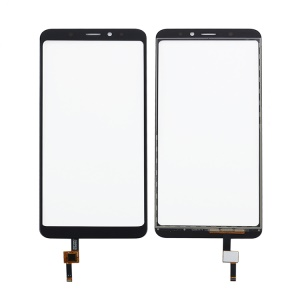 Assembly Digitizer Touch Screen Glass Replacement for Wiko View XL - Black