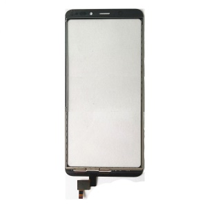 Assembly Touch Digitizer Screen Glass Spare Part for Wiko View - Black