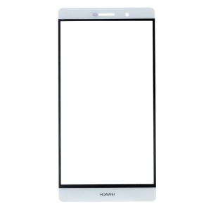 For Huawei Ascend P8 Max Outer Screen Glass Lens Part - White