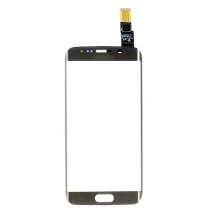 Digitizer Touch Screen + Front Glass Lens for Samsung Galaxy S6 Edge G925 - Gold