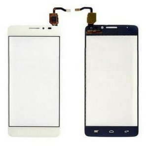 OEM Touch Digitizer Screen Glass Part for Alcatel One Touch Idol X OT-6040 - White