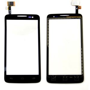 OEM Touch Digitizer Screen Glass Replacement for Alcatel One Touch X'Pop OT-5035 - Black