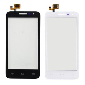 OEM  for Alcatel One Touch POP D5 OT-5038 Touch Digitizer Screen Glass Spare Part - White
