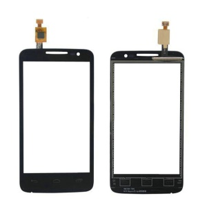 OEM Touch Digitizer Screen Glass Replacement for Alcatel One Touch MPOP OT-5020 - Black