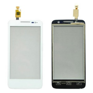 OEM Touch Digitizer Screen Glass Part for Alcatel One Touch MPOP OT-5020 - White