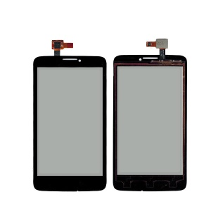 OEM for Alcatel One Touch Scribe Easy OT-8000 Touch Digitizer Screen Glass Replacement - Black