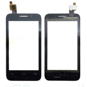 OEM Touch Digitizer Screen Glass Replacement Part for Alcatel OT-V785 - Black