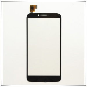 OEM for Alcatel One Touch Idol 2 OT-6037 Touch Digitizer Screen Glass Replacement - Black