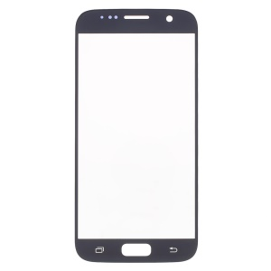 Front Screen Glass Lens Replace Part for Samsung Galaxy S7 G930 - Black