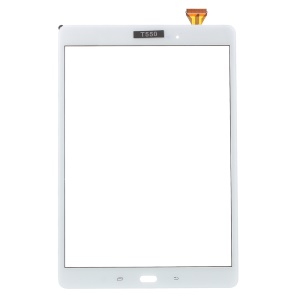 Digitizer Touch Screen Replacement for Samsung Galaxy Tab A 9.7 T550 T555 with Glue - White