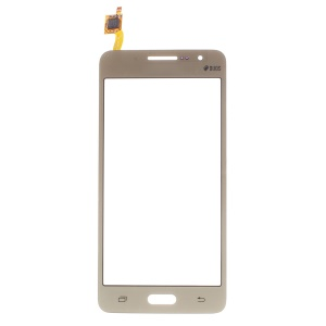 Digitizer Touch Screen Glass for Samsung Galaxy Grand Prime SM-G531 (with Duos Letters) - Champagne
