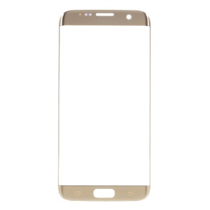 OEM Front Screen Glass Lens Replacement for Samsung Galaxy S7 Edge G935 - Gold Color