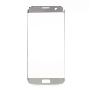 For Samsung Galaxy S7 Edge G935 OEM Replacement Front Screen Glass Lens - Silver