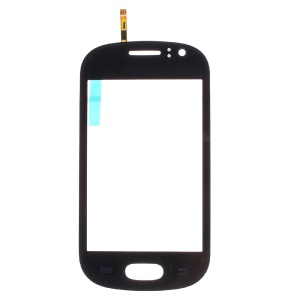 Digitizer Touch Screen Glass for Samsung Galaxy Fame S6810 (with Duos Letters, OEM Material Assembly) - Black