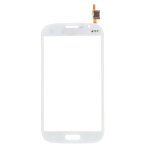 Digitizer Touch Screen Glass for Samsung Galaxy Grand I9080 I9082 (with Duos Letters, OEM Material Assembly) - White