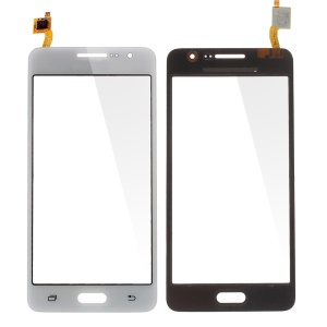 White Digitizer Touch Screen for Samsung Galaxy Grand Prime G530 (with Duos Letters, OEM Material Assembly)