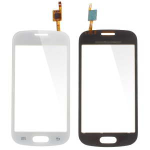 White Digitizer Touch Screen for Samsung Galaxy Trend Lite S7390 (with Duos Letters, OEM Material Assembly)
