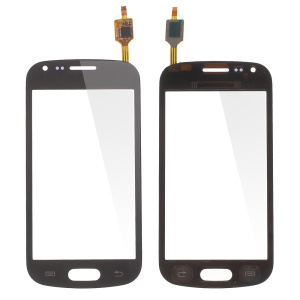 Black Touch Screen Digitizer per Samsung Galaxy S Duos S7562 / Trend S7560(con duos epistola, OEM materia Assembly)