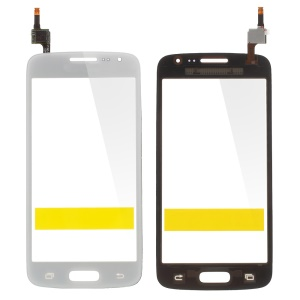 White Digitizer Touch Screen for Samsung Galaxy 4G G3518 / LTE G386F (with Duos Letters, OEM Material Assembly)