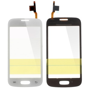 Digitizer Touch Screen Glass Part for Samsung Galaxy Star Pro S7260 S7262 (with Duos Letters, OEM Material Assembly) - White