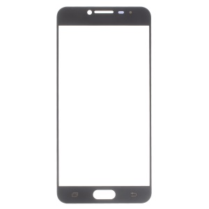 OEM Front Screen Glass Lens Replacement for Samsung Galaxy C5 - Black