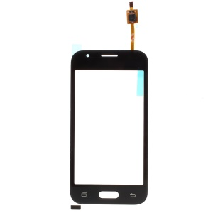Digitizer Touch Screen Glass Part for Samsung Galaxy J1 mini J105F (with Duos Letters, OEM Material Assembly) - Black
