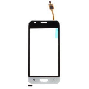 For Samsung Galaxy J1 mini J105F Digitizer Touch Screen Glass (with Duos Letters, OEM Material Assembly) - White