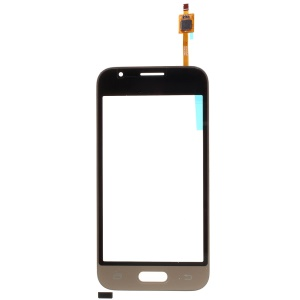 Digitizer Touch Screen Glass for Samsung Galaxy J1 mini J105F (with Duos Letters, OEM Material Assembly) - Gold