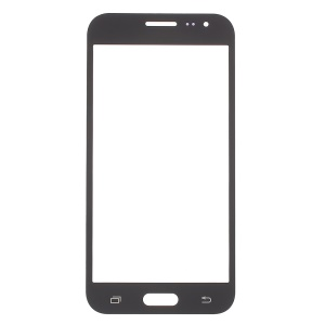 Front Screen Glass Lens Replace Part for Samsung Galaxy J3 - Black