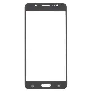 For Samsung Galaxy J5 (2016) Front Outer Screen Glass Lens Replacement - Black