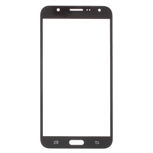 Front Outer Screen Glass Lens Replacement for Samsung Galaxy J7 J700F - Black