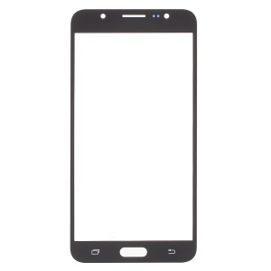 Front Outer Screen Glass Lens Replacement for Samsung Galaxy J7 (2016) - Black
