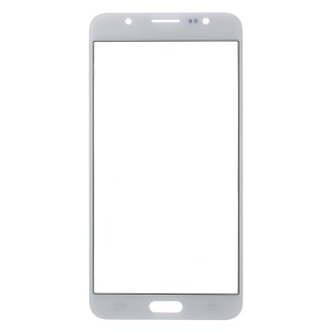 For Samsung Galaxy J7 (2016) Front Outer Screen Glass Lens Replace Part - White