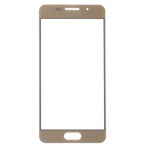 Front Outer Screen Glass Lens Part for Samsung Galaxy A3 A310F (2016) - Gold