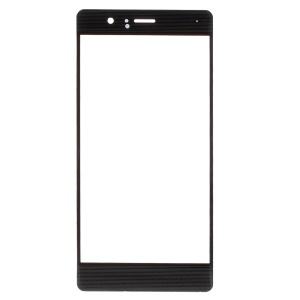 For Huawei P9 Lite Outer Screen Glass Lens Replacement Part - Black