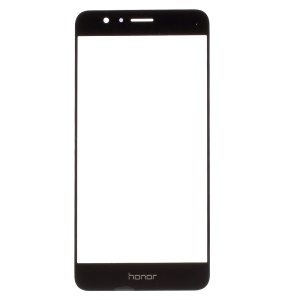 For Huawei Honor 8 Front Screen Glass Lens Replacement Part - Black