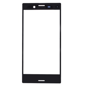 Front Screen Glass Lens Replacement for Sony Xperia X Compact - Black