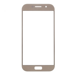 Front Outer Screen Glass Lens Replacement for Samsung Galaxy A5 (2017) SM-A520F - Gold Color