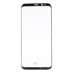 For Samsung Galaxy S8 Plus G955 Front Screen Glass Lens Replacement Part - Black