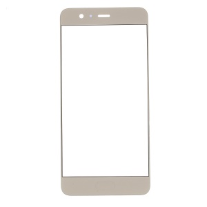 Front Screen Glass Lens Repair Part for Huawei P10 Plus - Gold Color