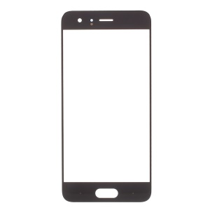 For Huawei Honor 9 Front Screen Glass Lens Cover Replace Part - Black
