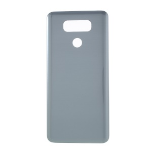 OEM Rear Battery Housing Cover for LG G6 with Adhesive Sticker - Grey