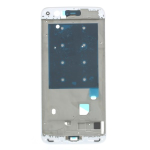 OEM Middle Plate Frame Replacement for OnePlus 5 with Earpiece Mesh - White