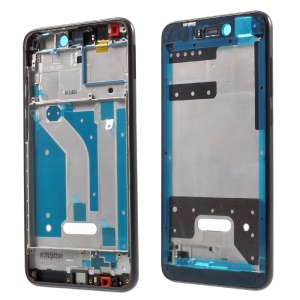 OEM Middle Plate Frame Replacement for Huawei P8 Lite (2017) / Honor 8 Lite with Earpiece Mesh - Black