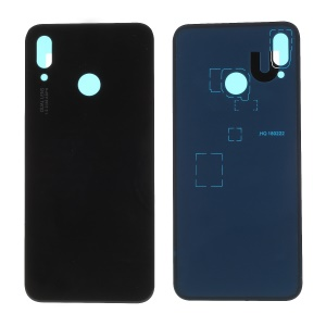 OEM Back Battery Housing Cover Part with Adhesive Sticker for Huawei P20 Lite/Nova 3e - Black