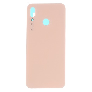 OEM Rear Battery Housing Cover Part with Adhesive Sticker for Huawei P20 Lite/Nova 3e - Rose Gold