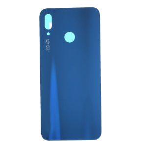 OEM Back Battery Housing Door Cover Part with Adhesive Sticker for Huawei P20 Lite/Nova 3e - Blue