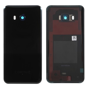 OEM Battery Housing Door Cover Spare Part for HTC U11 - Black
